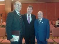 Junto a los Profesores Julio A Castiglia y Humberto R Camarota.
