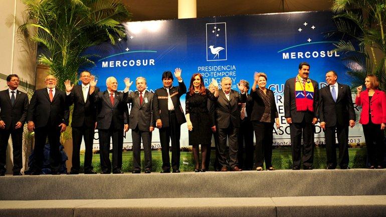 Cumbre de presidentes en Paraná, Provincia de Entre Ríos, (diciembre 2014).